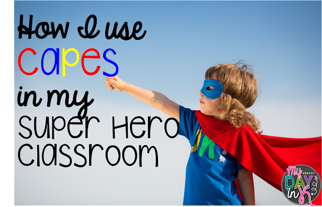 capes, superhero, behavior chart