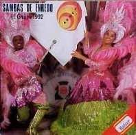 foto da capa do cd sambas de enredo 1992 grupo de acesso