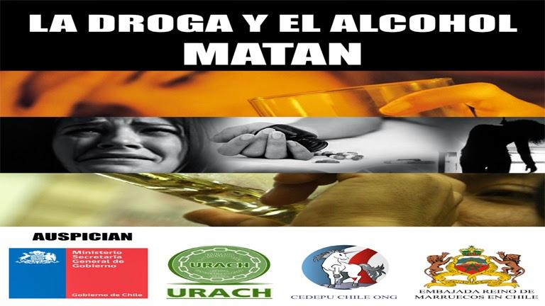 La droga y el alcohol MATAN