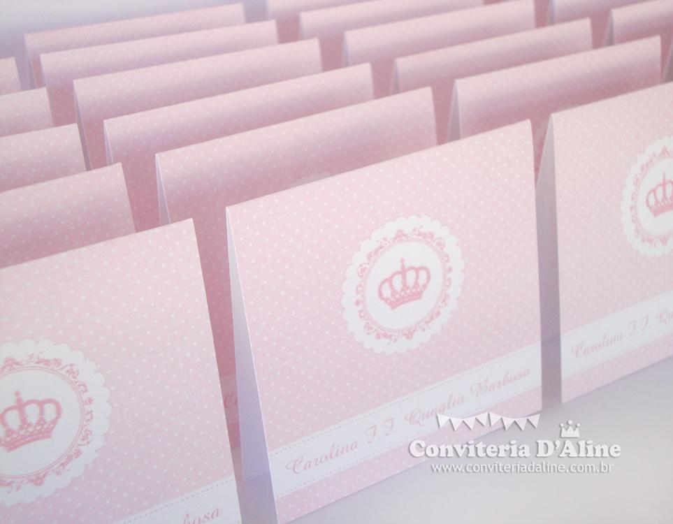 cartões pessoais maternidade menina