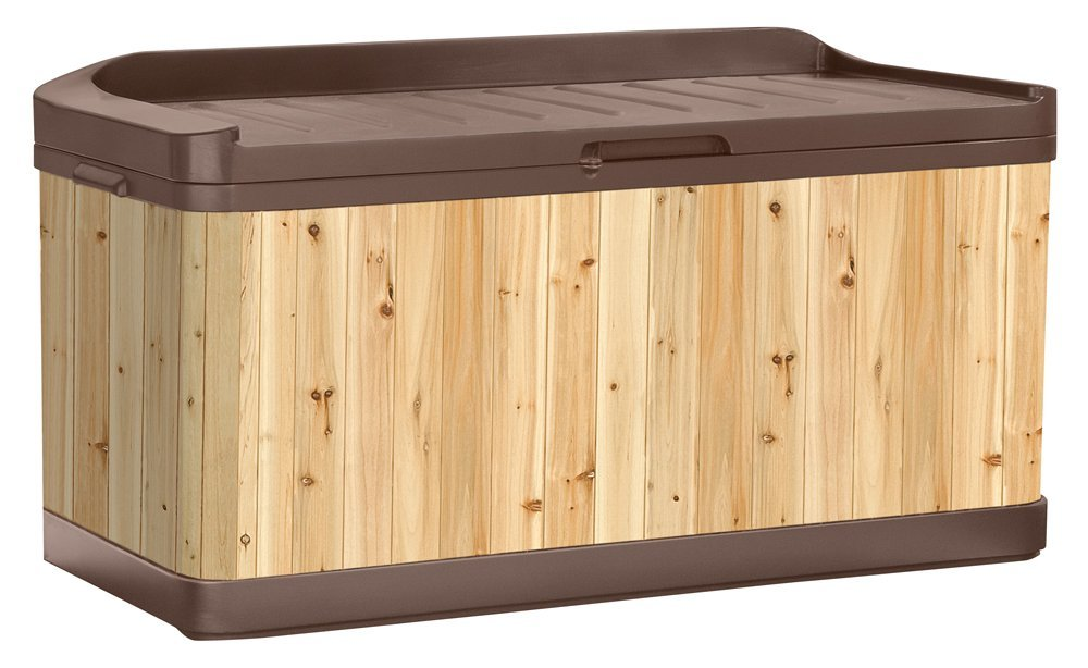 A Cedar Potting Table With A Matching Cedar Outdoor Storage Bench Is Nice  In Combination Because Cedar And Other Hardwoods Are Amazingly Flexible And  ...