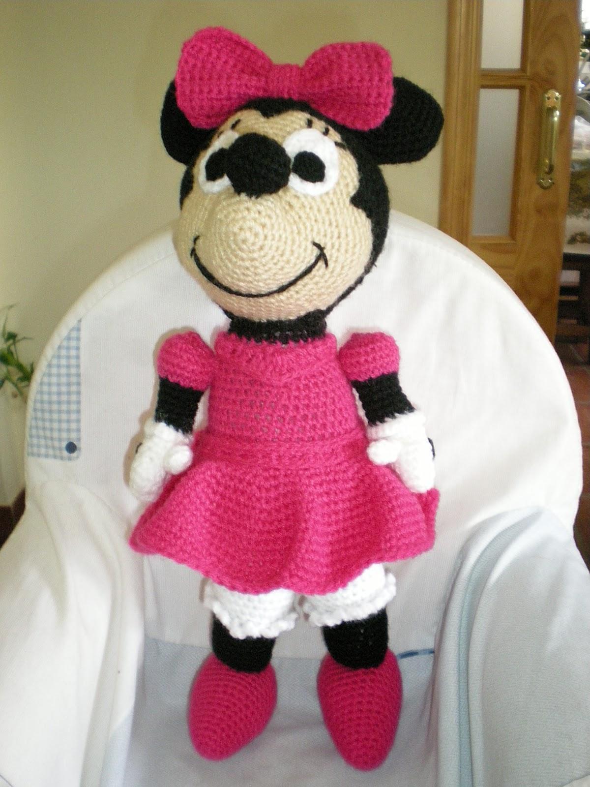 Amigurumis, Crochet y Otras Cosillas Juani: Minnie Mouse