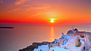 greek island Santorini - dont miss the sunset