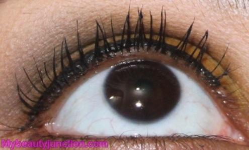 Teeez Trendy Cosmetics Mascara Midnight Sky review, swatch, photos