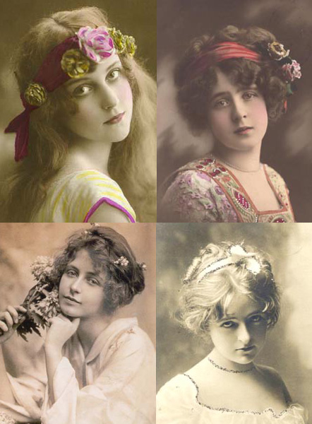 Hairstyles Victorian Era : Here I ahave shown some images from the Victorian era, I liked how ...