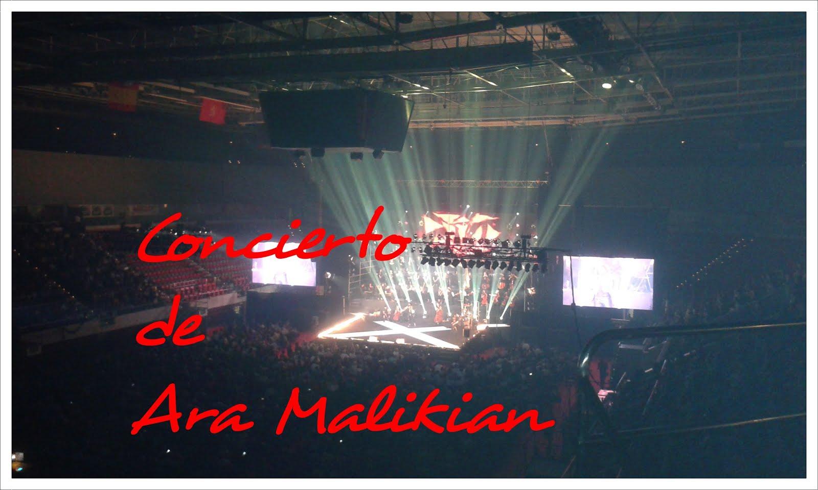 Concierto de Ara Malikian en Zaragoza. Un esfuerzo musical humanitario.