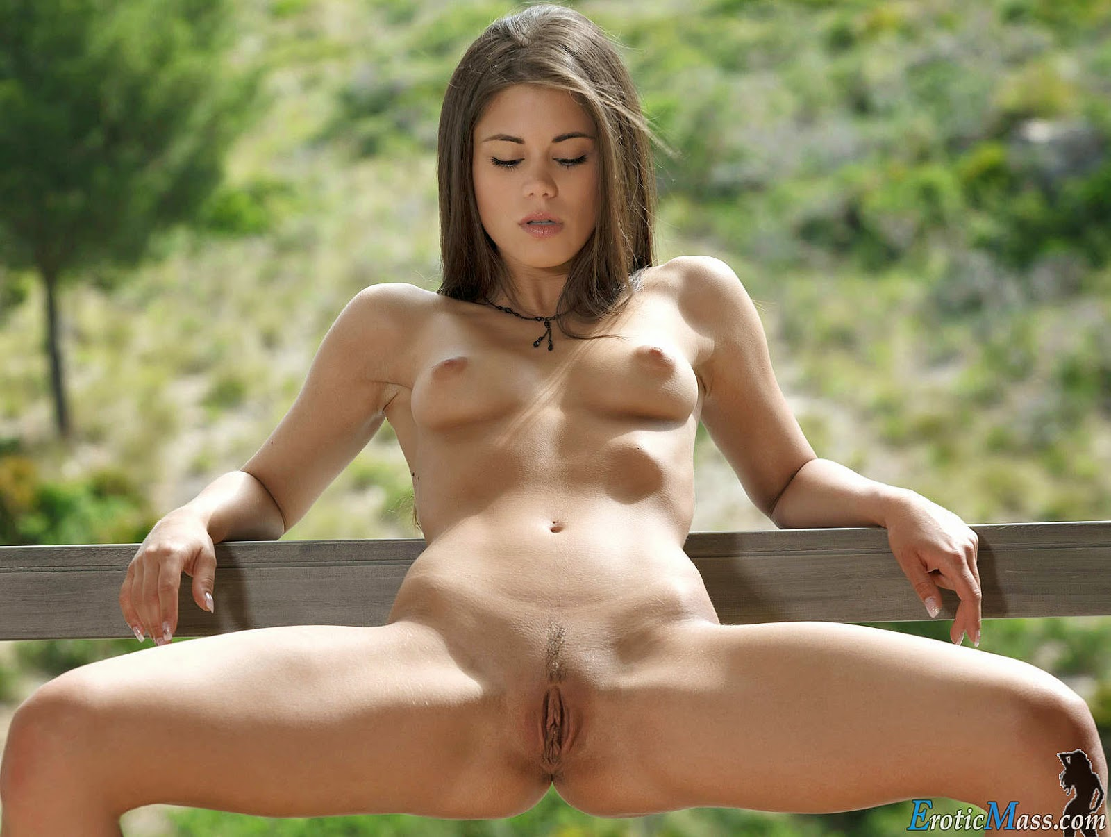 Perfect shaved young pussy