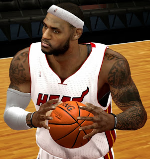 NBA 2K14 LeBron James Tattoos Update