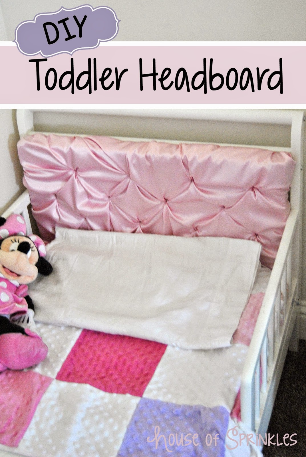 DIY Toddler Headboard with Foamology House of