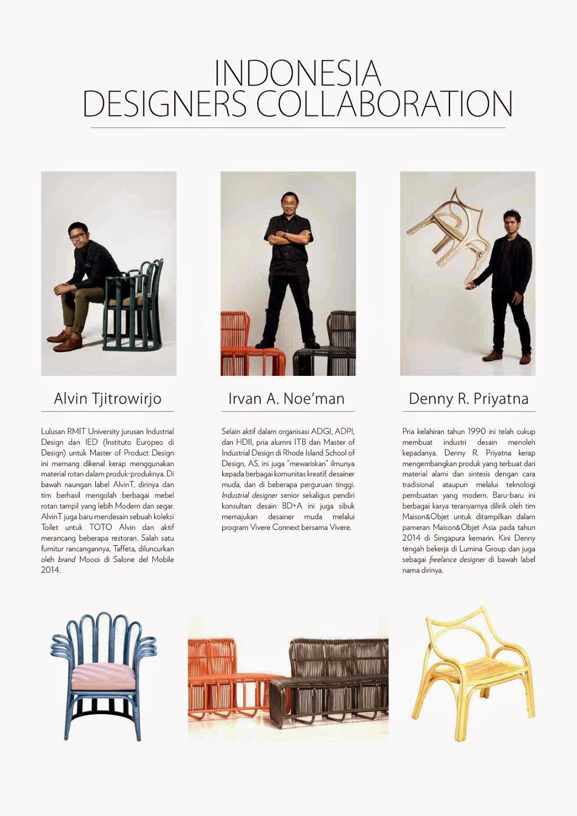 Schuetz Furniture: Indonesia Designers Collaboration
