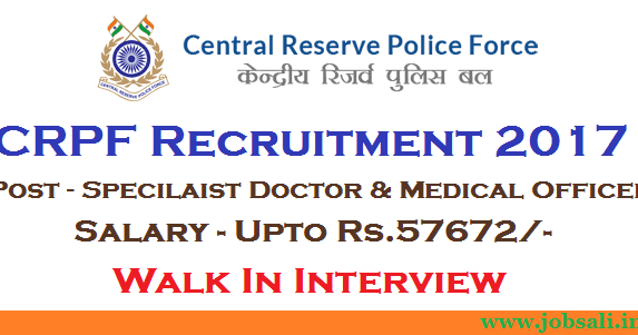 Crpf Recruitment  Doctors And Medical Officer Walk