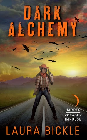 Dark Alchemy urban fantasy by Laura Bickle