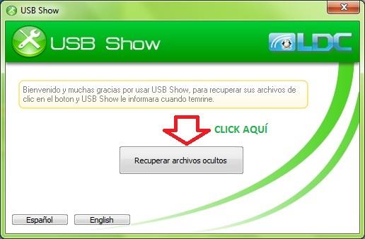 descargar programa para recuperar archivos ocultos