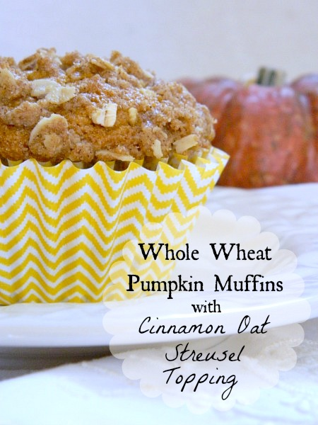 ... Whole Wheat Cinnamon Muffins . We should make these to go with Tammy's