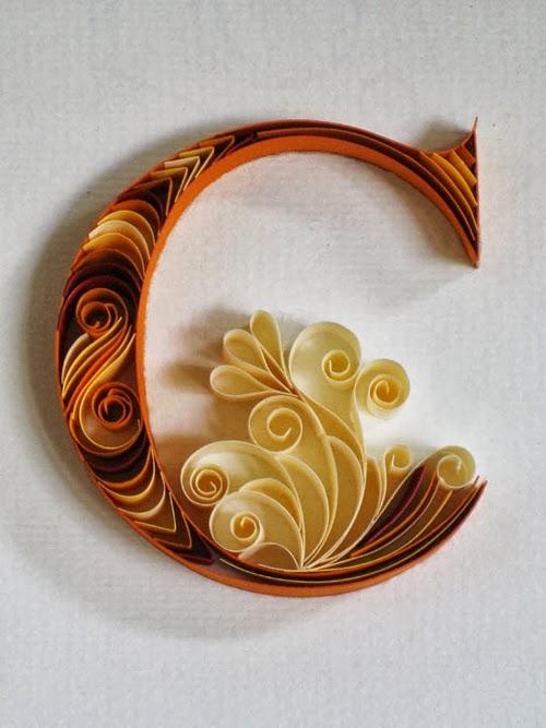 03-C-Quilling-Illustrator-Typographer-Calligrapher-Paper-Sculptor-Sabeena-Karnik-Mumbai-India-Sculptures-A-to-Z-www-designstack-co