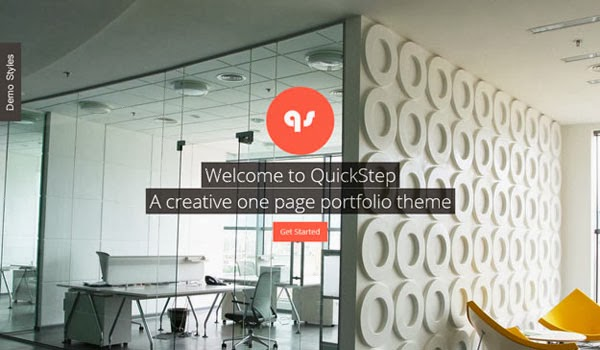QuickStep-One-Page-Theme