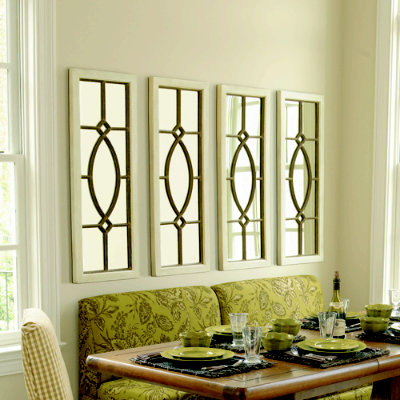 Our love and our blessing knock off ballard mirrors for Ballard designs dining room