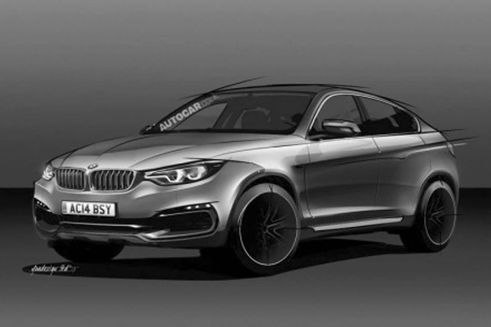 All New Bmw X6 More Aggressive And Sporty The New Autocar