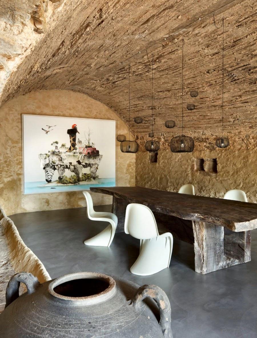 Tra muri di pietra coffee break the italian way of design - Bodegas rusticas de obra ...