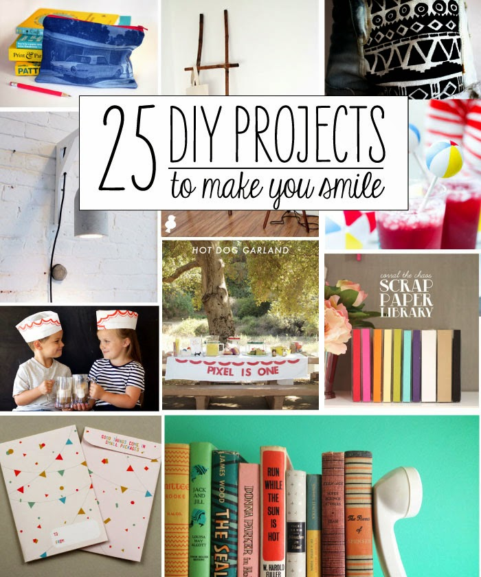 25 Fun DIY Projects to Make You Smile