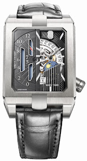 Montre Harry Winston Avenue Dual Time Automatique