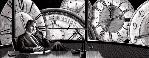 13-Time-Douglas-Smith-Scratchboard-Drawings-Through-Time-and-Lives-www-designstack-co