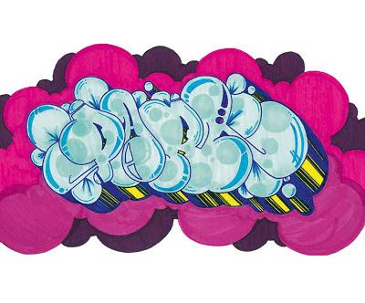 graffiti names flower