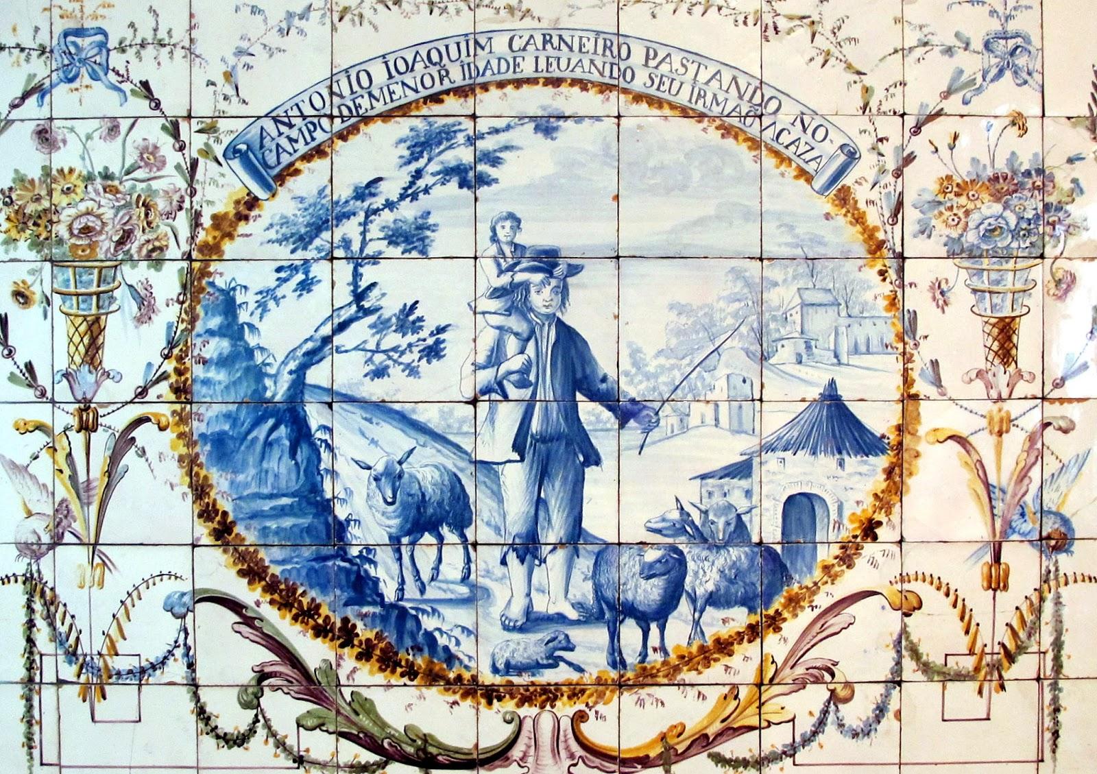 Expresso da linha a hist ria do chapeleiro ant nio for Azulejos historia