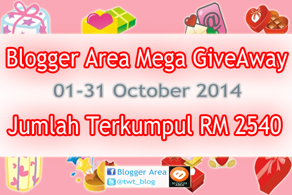 Blogger Area Mega Give Away