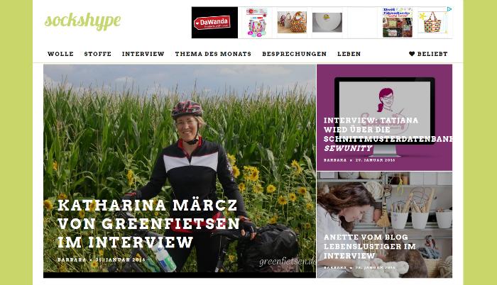 socksyhpe - Der digitale Ratgeber für Handarbeiter, die über Techniken, Neuigkeiten und Trends aus der Strick- und Nähszene informiert werden wollen