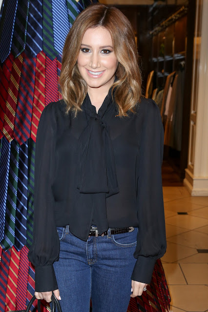 Actress, Singer, @ Ashley Tisdale - Brooks Brothers Holiday Party with St Jude Children's Research Hospital in Beverly Hills