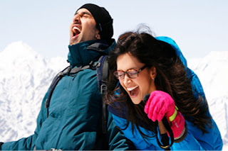 Ranvir and deepika in Battamij dil song at mountain and shimla and switzerland free