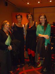 Con Liliana Bodoc, Sandra Comino y Alicia Salvi...