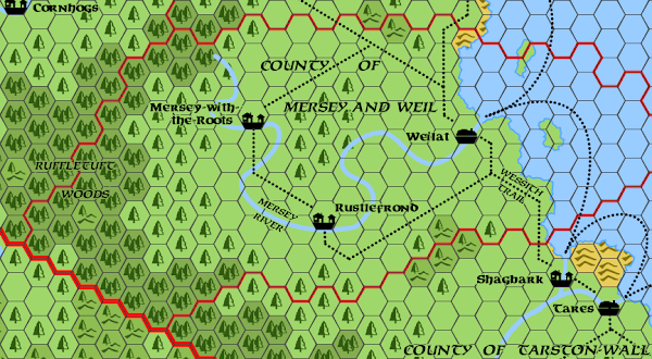 Mystara Alphatia Foresthome Mersey Weil hex map