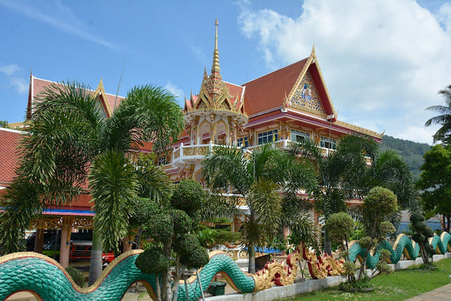 Wat Karon Phuket garden