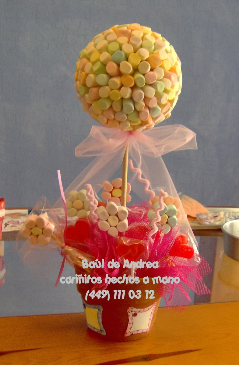 Centro De Mesa En Colores Suaves  Para Decorar Baby Showers  Fiestas