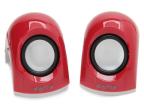 Flipkart: Buy DigiFlip PS014 Wired Mini USB Speaker (Red, 2 Channel) at Rs. 279