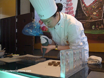 Chocoholic & Candylicious Genting Chef Lee Seung Yun