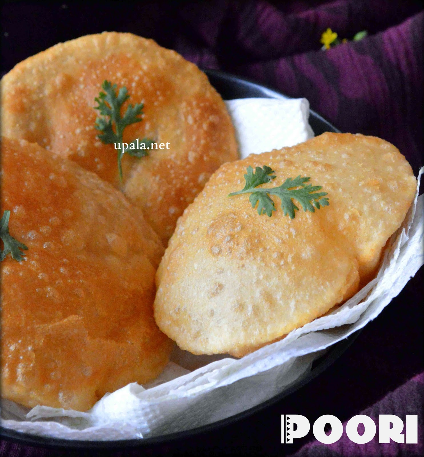 poori easy method