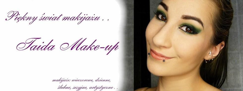 Piękny świat makijażu . . Taida Make-up
