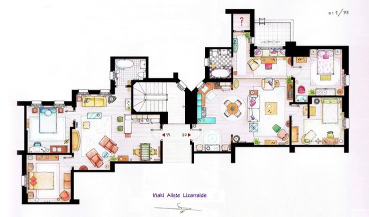 friend's house plan