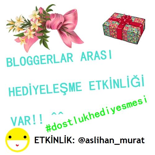 #Dostlukhediyelesmesi ll Instagram'da Bloggerlar Arasi Hediyeleşme Etkinliği Başlattımm! ^^