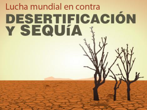 Día Mundial Lucha Desertificación y Sequía