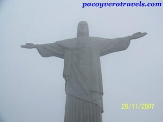 Cristo Redentor en el Corcovado de Rio de Janeiro
