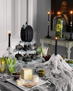 Halloween - mesa decorada