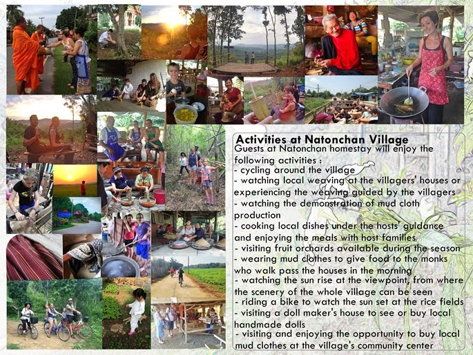 Activities at Natonchan Village