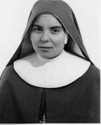 Fotografi ved sr. Leonellas første løfter i 1965