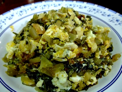 Stir fried Pickled Mustard Green with eggs | Thai noodles and snacks