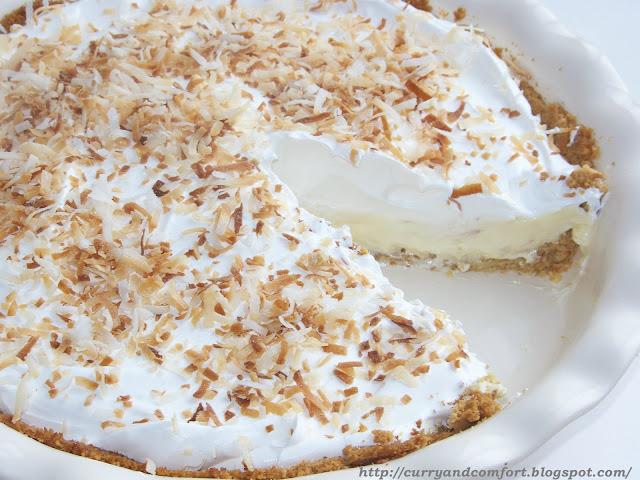 Kitchen Simmer: Easy No-Bake Coconut Cream Pie