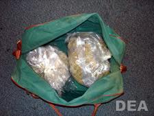 A DEA drug seizure.